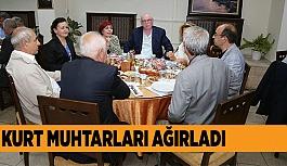 BAŞKAN KURT İFTARDA MUHTARLARLA BİR ARAYA GELDİ
