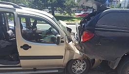 Batıkent Mahallesi'nde kaza