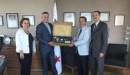 Başkan Ataç'tan Büyükelçi Corona'ya...