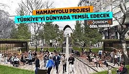 HAMAMYOLU PROJESİ TÜRKİYE'Yİ DÜNYA'DA TEMSİL EDECEK