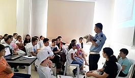 Yaz Okulu öğrencilerine trafik eğitimi