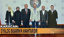 AK PARTİ'DEN TOBB'A ZİYARET