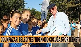 Odunpazarı Belediyesi'nden 400 çocuğa spor hizmeti