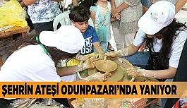 ŞEHRİN ATEŞİ ODUNPAZARI'NDA YANIYOR
