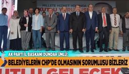 BELEDİYELERİN CHP'DE OLMASININ SORUMLUSU BİZLERİZ