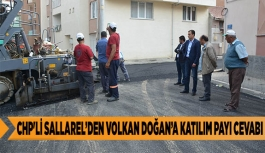 CHP'Lİ SALLAREL'DEN VOLKAN DOĞAN'A KATILIM PAYI CEVABI