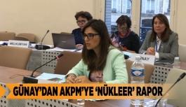 GÜNAY'DAN AKPM'YE 'NÜKLEER' RAPOR