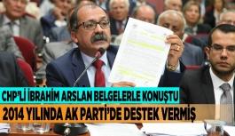 2014 YILINDA AK PARTİ'DE DESTEK VERMİŞ