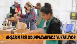 AHŞABIN SESİ ODUNPAZARI'NDA YÜKSELİYOR