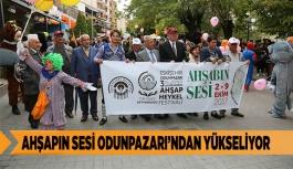 AHŞAPIN SESİ ODUNPAZARI'NDAN YÜKSELİYOR