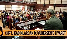 CHP'Lİ KADINLARDAN BÜYÜKERŞEN'E ZİYARET