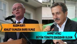 KAZIM KURT: ADALET OLMAZSA BARIŞ OLMAZ