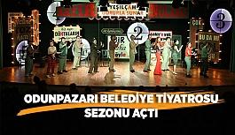 Odunpazarı Belediye Tiyatrosu sezonu açtı