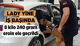 Eskişehir'de 8 kilo 240 gram eroin ele geçirildi