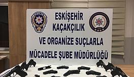 Eskişehir'de silah kaçakçılığı