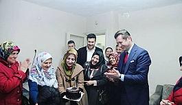 AK Parti Odunpazarı ev ve hasta ziyaretlerine...