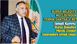 Odunpazarı Kent Konseyi Başkanı İsmail Kumru, belediye meclis üyelerine seslendi; termik santralin Eskişehir'e vereceği zararı düşünerek karar verin