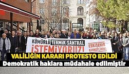 STK'LARDAN VALİLİĞİN KARARINA TEPKİ