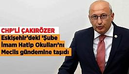 """ÇAKIRÖZER: """"AYRIŞMA VE KUTUPLAŞMALARA NEDEN OLUR"""""""