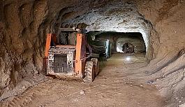 Teröristlerin Afrin'deki tünelleri...