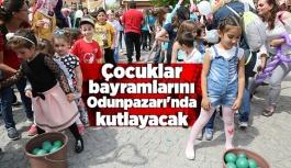 Çocuklar bayramlarını Odunpazarı'nda kutlayacak
