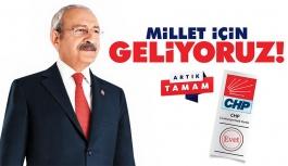 CHP 'Millet İçin Geliyoruz'...