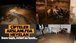 ÇİFTELER ARSLANLI'DA HEYELAN