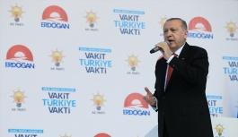 Erdoğan, AK Parti Seçim Beyannamesi'ni...