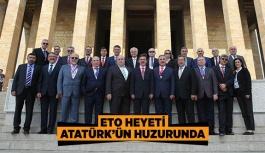 ETO HEYETİ ATATÜRK'ÜN HUZURUNDA
