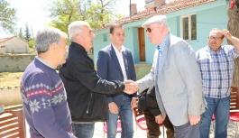 Kazım Kurt köylerde vatandaşla buluşmaya...