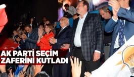 AK PARTİ SEÇİM ZAFERİNİ KUTLADI