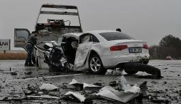 Bayramda trafik kazalarının bilançosu:...
