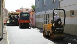 Büyükdere'de 32 sokakta çalışma