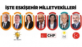 Eskişehir'den meclise kimler gidiyor?