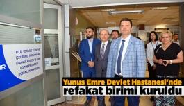 Yunus Emre Devlet Hastanesi'nde refakat...