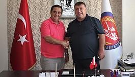 Başkan Alp'ten Başkan Gündoğan'a...