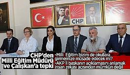 Akman'dan; Milli Eğitim Müdürü ve AK Parti İl Başkanı Çalışkan'a tepki