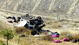 Eskişehir'de trafik kazası:Bir kişi...