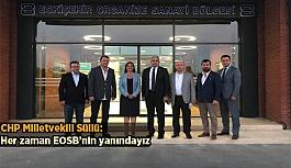 Jale Nur Süllü'den EOSB'ye Zİyaret