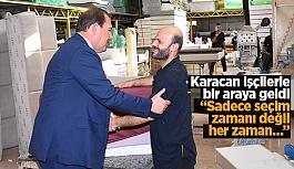 Karacan işçilerin sorun ve taleplerini dinledi