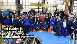 Karacan'dan Tülomsaş ve Diğer Sanayicilere Ziyaret