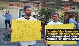 KHK mağduru işçiler Ankara'ya yürüyor