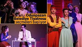 Odunpazarı yeni tiyatro oyuncularını bekliyor