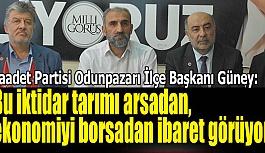 Güney, Cumhurbaşkanı Erdoğan'a sordu: yoksa yine kandırıldınız mı?