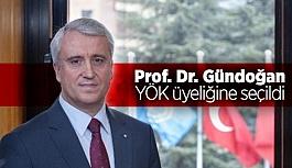 Prof. Dr. Gündoğan'a yeni görev!