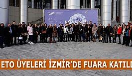 ETO ÜYELERİ İZMİR'DE FUARA KATILDI