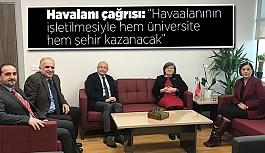 """""""HEM ÜNİVERSİTE HEM ESKİŞEHİR KAZANACAK"""""""
