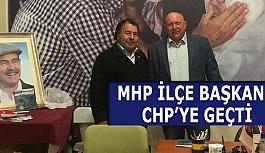 MHP'DEN İSTİFA ETTİ CHP'YE GEÇTİ