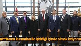 KIZILAY'DAN KURT'A ZİYARET