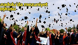 Anadolu Üniversitesinin (AÜ) 2018-2019 akademik yılı mezuniyet törenleri başladı